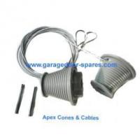 Buy cheap Apex Ascot Garage Door Grey Cones and Cables product