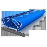Ventilating skylight (gas floor)