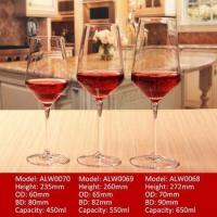 Unleaded Crystal Red Wine Glasses Wine Glass Goblet
