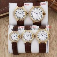 Buy cheap hot sell AAA cartier watch original quality package fashion watches clock product