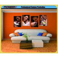 China Family photo printing wall canvas on sale