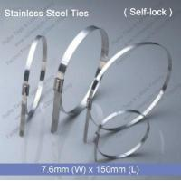 Buy cheap E1272 Stainless Steel Tie (7.6mm x 150mm) product