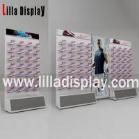 Lilladisplay retail sport shoes store use slatwall board S05