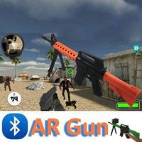 Christmas Toy Phone Controlled Smart AR Gun for Children