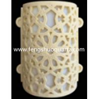 Cast stone decorative wall lamp
