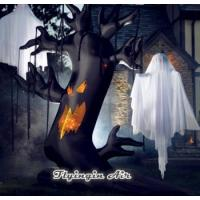 Halloween Inflatable Spooky tree and Inflatable Ghost
