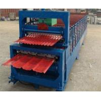 Automatic Corrugated Double Layer Roll Forming Machine With Manual Decoiler