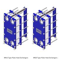 BR16-20Type Plate Heat Exchangers