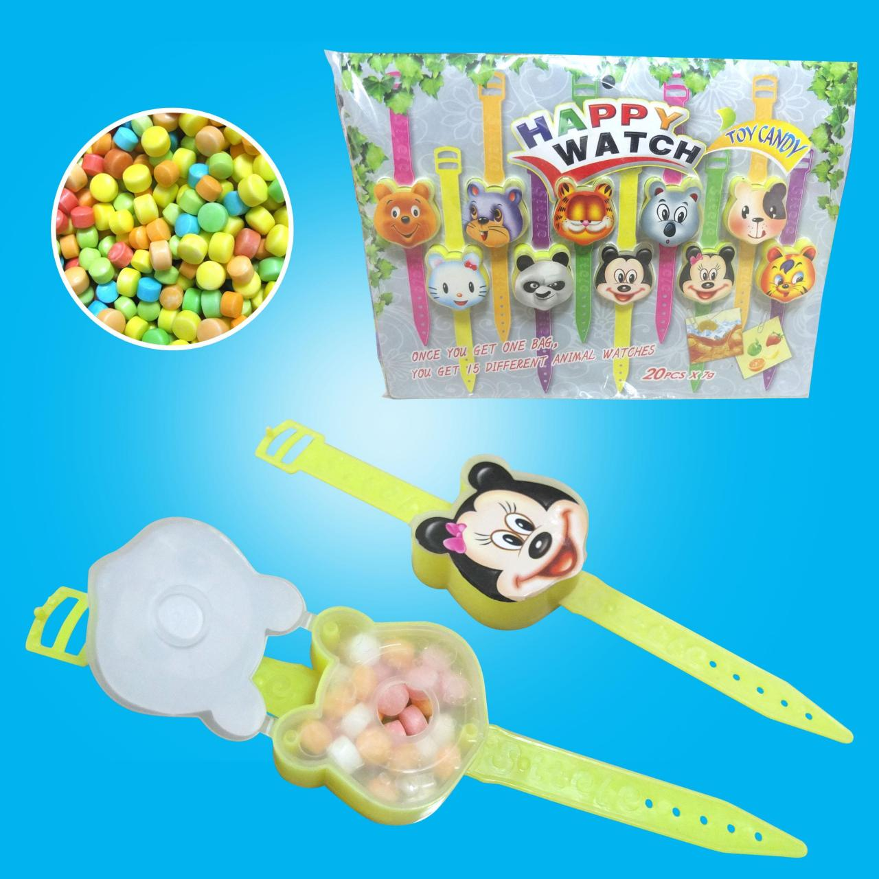 Candy containers New Design Different Faces Watch Toy Candy-TL-B025