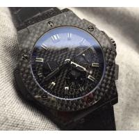 Black Automatic Carbon Fiber Watch for men