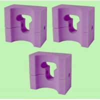 Buy cheap 3 MedLine Adult-Size Foam Supportive HEAD POSITIONER 9x8x4.5 / NON081144 product