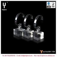 Buy cheap 2017 Popular Single Acrylic Watch Display Stand / Holder with C Clip product