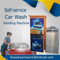 China Coins operated car washing vacuum vending machine on sale
