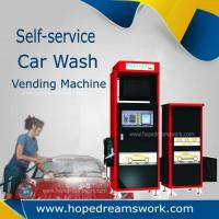 China Car wash vending machine with Vacuum on sale