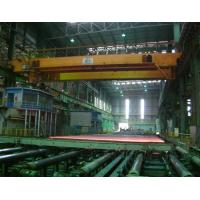 Buy cheap Metallurgical Machinery  20/5t Lower Slewing Magnet Lifting Beam Crane product