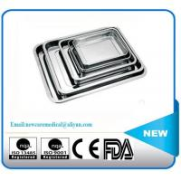 NC-P04 S.S Square plate