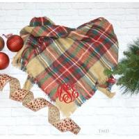 Buy cheap Monogrammed Blanket Scarf product
