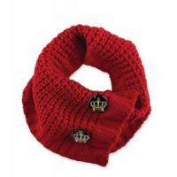 Buy cheap Designer Knit Scarf Red product