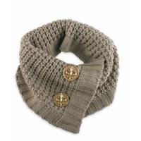Buy cheap Designer Knit Scarf Tan product