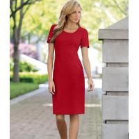 Buy cheap 41108 Short Sleeve Crepe Sheath Dress product