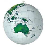 Geography English inflatable globe
