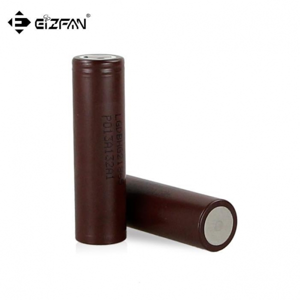 China LG Original Battery 18650 HG2 3000mAh with 20A discharge current for vape and battery pack