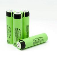 Buy cheap Panasonic NCR18650B-3400mAh 4.9A NCR18650G-3600mAh 2C discharge rechargeable batteries from wholesalers