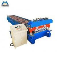 Buy cheap Steel Building IBR Roofing Sheet Cold Roll Forming Machine 19 rows product