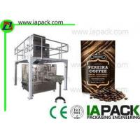 Buy cheap Automatic Coffee Beans Packing Machine Stand Up Pouch Zipper Filler Sealer from wholesalers