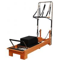 Pilates Nanjian Beech/Maple Wood Pilates Studio Reformer with tower