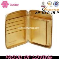 gold wallet
