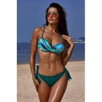 Buy cheap Green Printed Top Self-tie Panty Swimwear #LC411053-9 product
