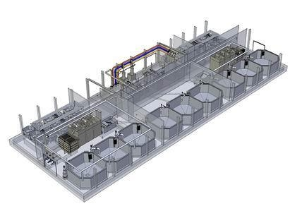 Quality Integrated projects RAS Solution for sale
