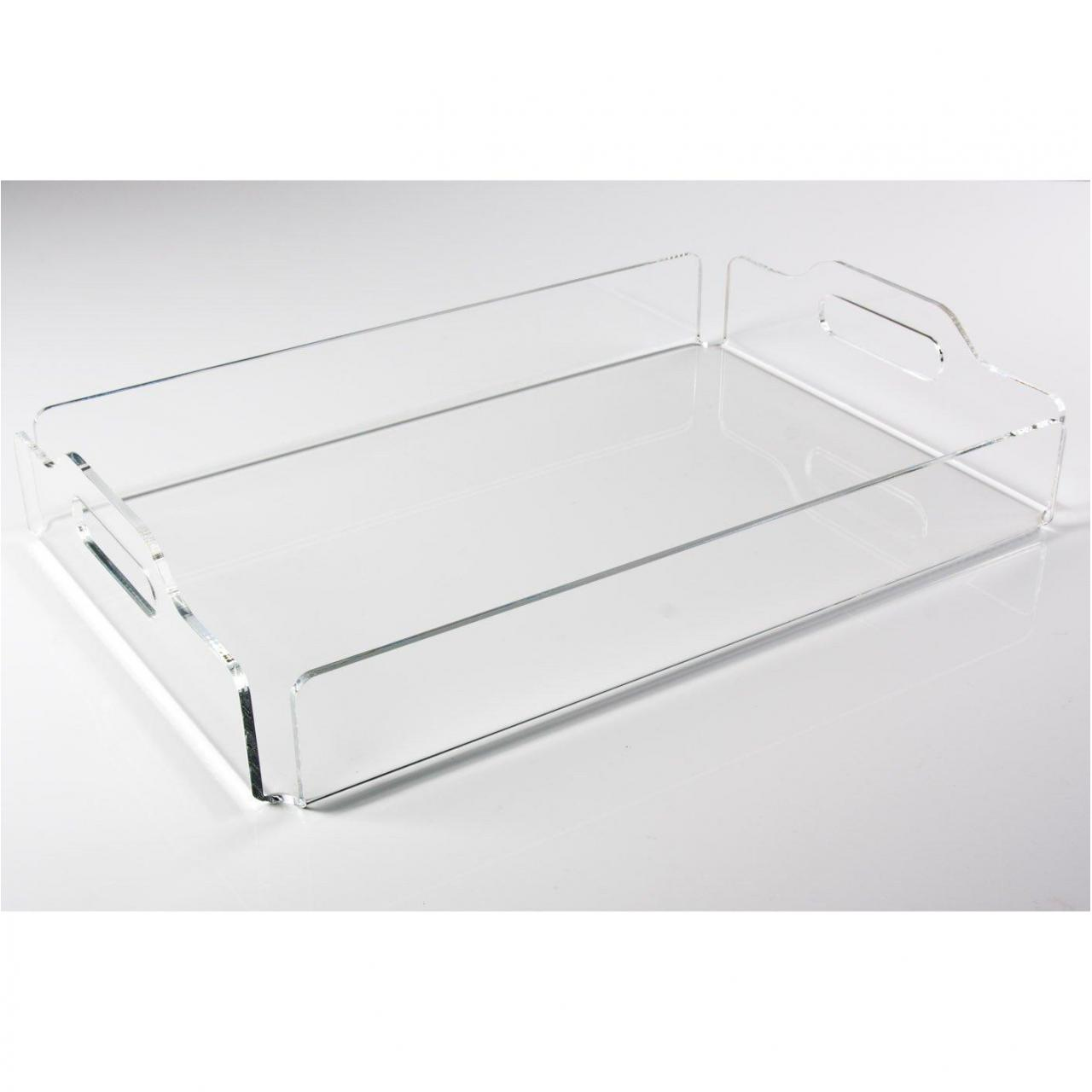 Buy cheap Acrylic serving tray from wholesalers
