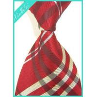 Buy cheap Custom Men's Brand Woven Poly Tie product
