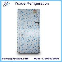 Buy cheap stianles pu Cold room door from wholesalers